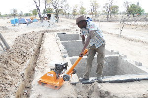 Plumbing the future – Winner of a DBN award under the National Youth Council's Credit for Youth in Business Programme, Ohangwena Plumbing Services started as a one man operation in 2005, and has grown to the point where it is now handling a tender for development of sanitation facilities in the north.