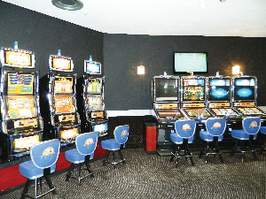 The Desert Jewel Casino has been upgraded and new slot machines added. Renovations cost about N$20 million over three years. (Photograph by Clemencia Jacobs)