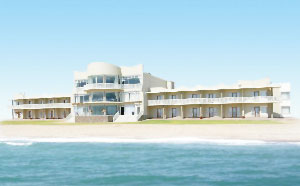 The Sea Side Hotel is popular amongst business clients.