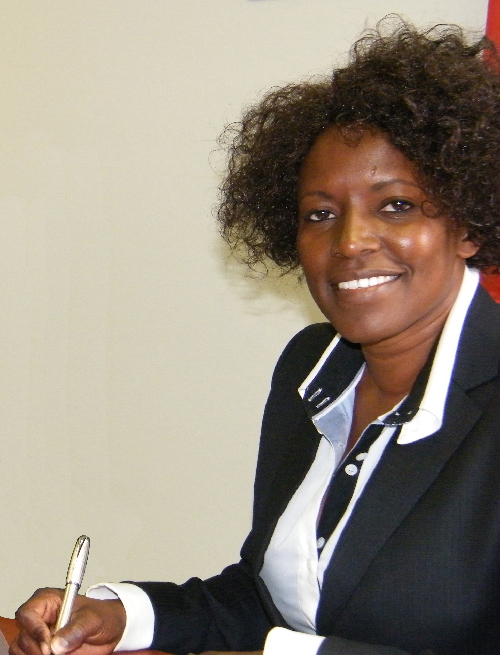Hilma Hitula, director of the Namibia Angola Housing Initiative
