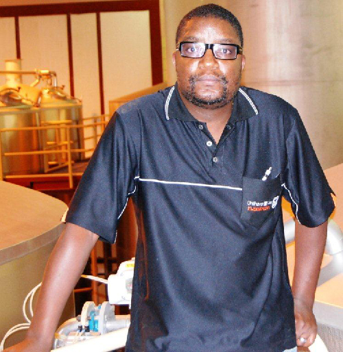 Tuhas Shikongo holds qualifications of brewer and maltster.