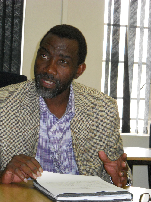 Alfred Angula, secretary general of the Namibia Domestic Workers Union