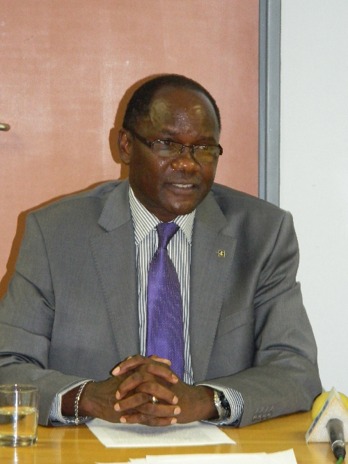David Namwandi, deputy Minister of Education