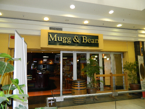 Mugg 'n Bean is one of the restaurants that are now under the ownership of Ondero Investment, after the O&L Group sold its shareholding in restaurant portfolio, Kilimanjaro Trading. (Photograph by Lorato Khobetsi)