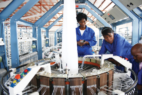 Quality Bag Manufacturers, also received funding from DBN. (Photographs contributed by DBN)