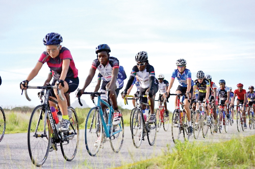 Riders from across the country underwent vigorous training last weekend. (Photograph contributed.)