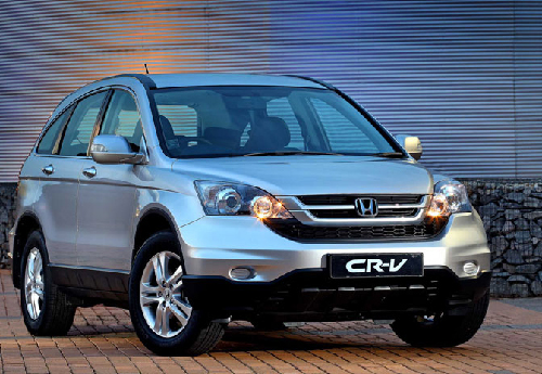 The Honda CR-V 2.4 is everything a woman wants from a car. (Photograph contributed)