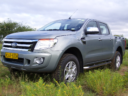 The new Ford Ranger