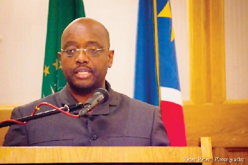 Deputy mayor of Windhoek, Gerson Kamatuka