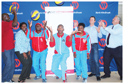 The Namibian Defence Force volleyball team is still the favourite for this year's national league.