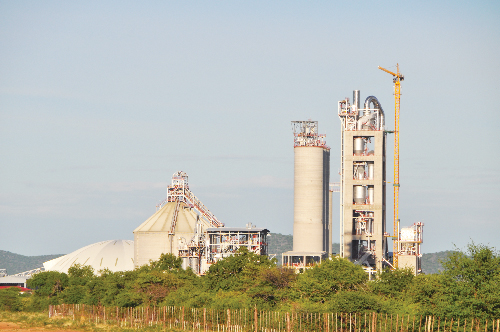 Ohorongo Cement (Pty) Ltd manufacturing site. (Photograph contributed)