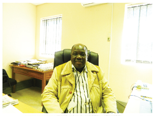 Ben Malima, deputy director of Plant Production Research at the Ministry of Agriculture, Water and Forestry.