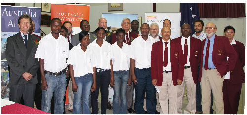 The Australian government has pledged to support young Namibians to obtain skills as technicians and engineers so that they can join in the country's lucrative mining sector. Bannerman Resources, the Australian government and the Erongo Development Foundation has joined forces to assists young people who are interested in the mining and engineering fields. (Photograph contributed)