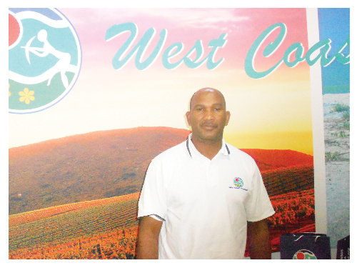 Dave Cornelius, Tourism Development Officer of West Coast Tourism. (Photograph by Hilma Hashange)