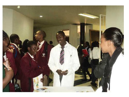 The National Health Training Centre of the Ministry of Health and Social Services also had an exhibition stall at the Katutura career fair.