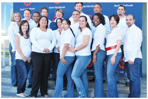Bank Windhoek staff will offer expert advice at the Bank Windhoek and Republikein Motor Show, which will be held from 6 to 9 June. (Photograph contributed)