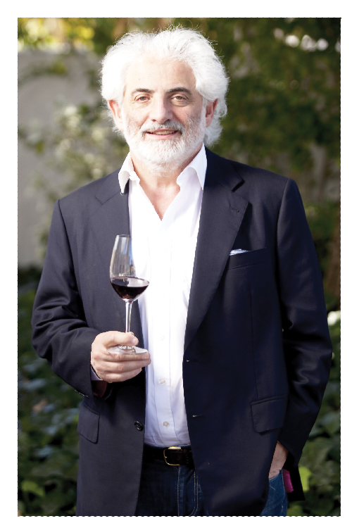 Michael Fridjhon, wine connoisseur extraordinaire
