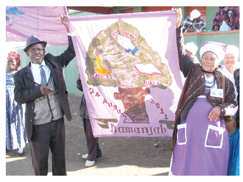 Eight chapters of the Senior Citizen movement convened in Keetmanshoop to strategise on the unique living conditions, requirements and threats faced by old people.