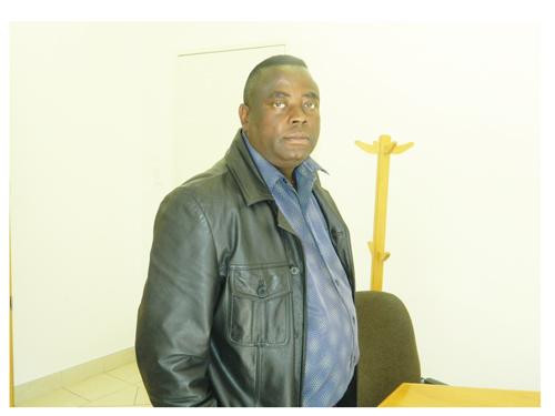 NAMAF CEO Gabriel Mbapaha. (Photograph by Hilma Hashange)