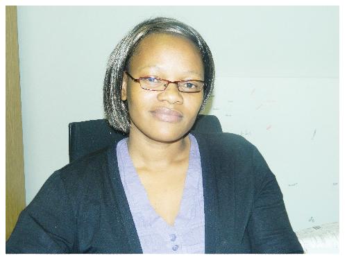 Mona-Liza Garises, Communications Manager of Shell Namibia. (Photograph by Hilma Hashange).