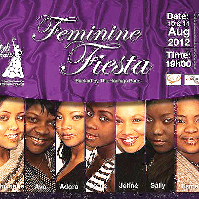 Namibia's finest, the ladies that will set the stage alight for two nights of unforgettable top notch entertainment at the NTN Backstage Theatre at NTN's Feminine Fiesta titled 'A Sistah Thang'.