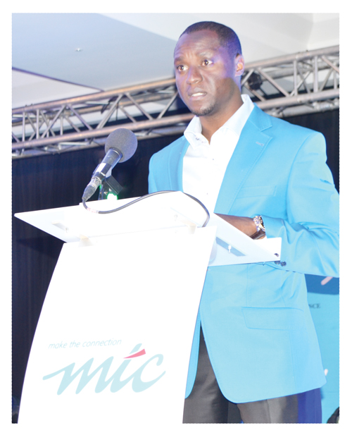 MTC Chief Human Capital and Corporate Affairs Officer Tim Ekandjo.
