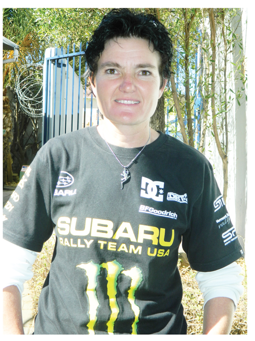 Professional enduro racer, Yana De Jesus, has her sights on this year's enduro champion title.