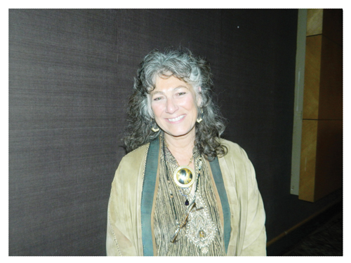 Dr. Laurie Marker, CCF's Founder and Executive Director (Photograph by Hilma Hashange)