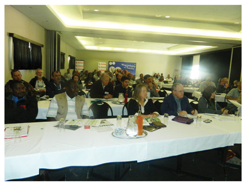 Some of the participants who attended the 16th Namibia Rangeland Forum (Photograph by Hilma Hashange)