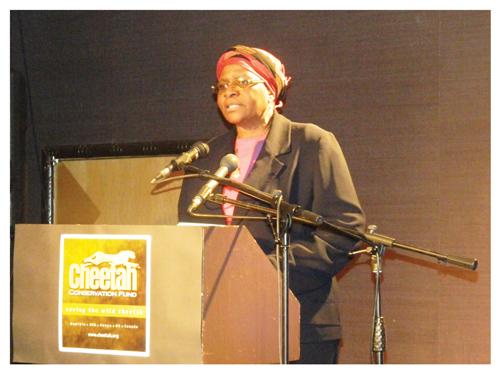 Minister Netumbo Nandi-Ndaitwah