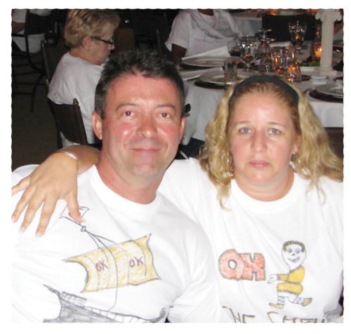Jose Machado and his wife Ana Paula, the owners of OK Foods Kavango.