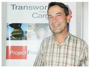 Business Development Manager, Transworld Cargo, Frank Gschwender.