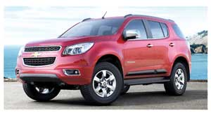 The very good looking, powerful and versatile all new 'tow anything', 'go anywhere' Chevrolet trailblazer is set to land on Namibian soil this month.