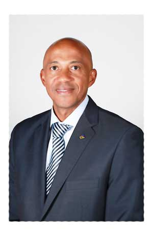 Vote of confidence.....Frankie Fredericks to serve a second term as president of Athletics Namibia