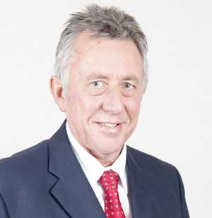 Managing Director of Bank Windhoek, Christo de Vries,