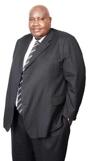 Shihaleni Ndjaba, CEO of Namibia Diamond Trading Company