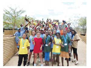 Forty nine children, some from as far as Rundu took part in the Dutch Reformed Church holiday camp which was held just before Christmas.