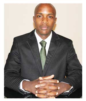 Mufaro Nesongano, Marketing & Public Relations officer at the Namibia Business Innovation Centre. (Photograph contribute by NBIC)