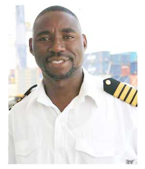 Captain Lukas Vipanda Kufuna, a native of the Okavango Region is the new Port Captain in the Port of Walvis Bay.