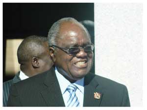 President Hifikepunye Pohamba (Photograph by Hilma Hashange)