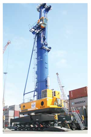 Namport has acquired 2 new mobile cranes which will improve efficiency as well as cut cost borne by importers and exporters.