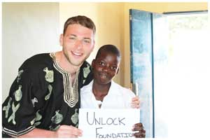 Director of the Unlock Foundation, Scott Karell has been instrumental to improve the quality of education at the Divundu Combined School in the Okavango Region. (Photograph contributed by the Unlock Foundation)