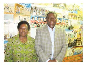MCA's CEO Penny Akwenye paid courtesy visit to the Prime Minister Hage Geingob's offices.
