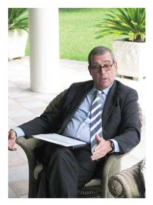 Ambassador Santiago Martínez-Caro, Director General of Casa Africa.