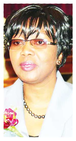 Minister of Finance, Hon. Saara Kuugongelwa-Amadhila.