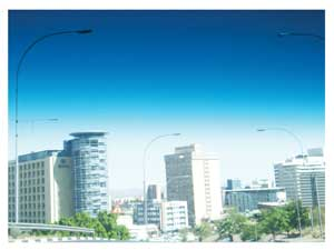 The City of Windhoek plays host to the 11th Conference of Parties in September 2013. (Photograph by Hilma Hashange)