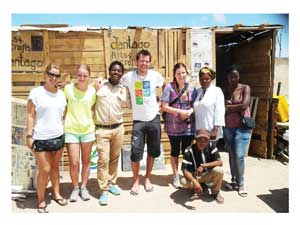 Hafeni Cultural Tours takes tourists around Swakopmund's townships on a daily basis. The small company also provides employment for a small but dedicated band of tourist guides.