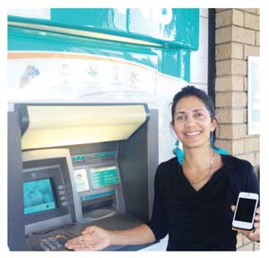 Desery Van Wyk, FNB's Manager Cellphone Banking explained the convenience of buying electricity  via the bank's website.