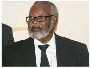 Founding President Dr. Sam Nujoma (Photograph by Melba Chipepo)