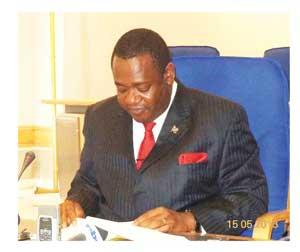 Deputy Minister of Foreign Affairs, Peya Mushelenga.